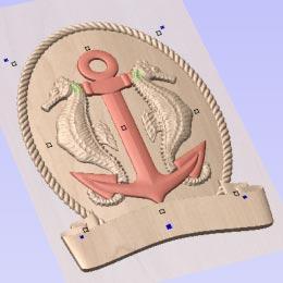 Vectric VCarve Pro 3D Component Manipulation