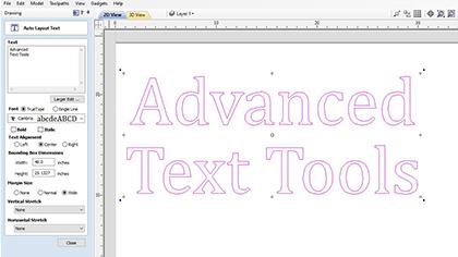 Avancerade textverktyg