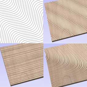Vectric VCarve Pro Create Vector Texture
