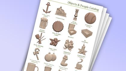 Vectric Aspire Clipart -katalog