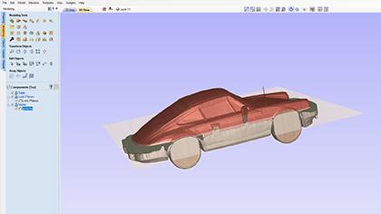 Importerar STL -modell