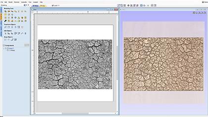 Vektriska 3D -texturer från bilder